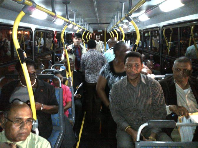This engineer explains why no Trini wants to take the bus